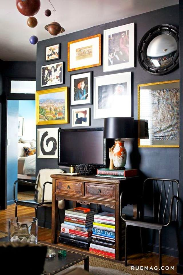 Wall Decor Behind Flat Screen Tv : Ideas about wall behind tv on hide wires