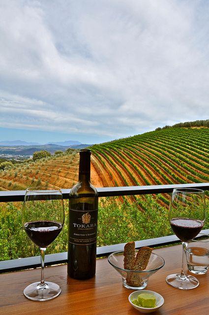 Cape Winelands, South Africa.