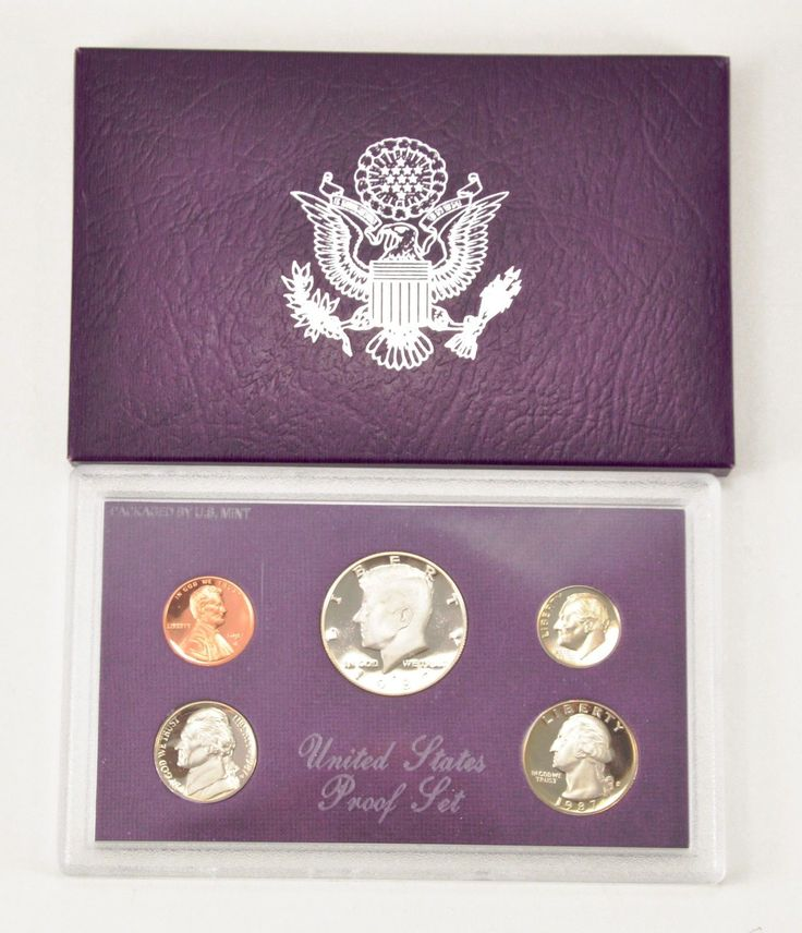 #coins MBarr 1987-S United States Proof Coin Set - 5 Coins please retweet
