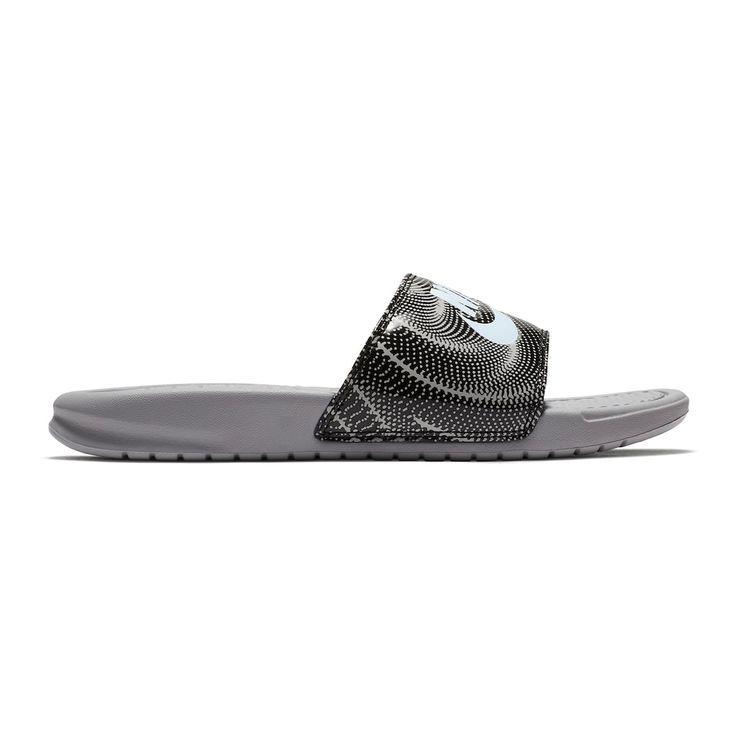 meet 509b6 558b3 Nike Benassi JDI Women s Slide Sandals Size  10 Grey (Charcoal) - Nike  Benassi - Latest   trending Nike Benassi  nike  benassi  nikebenassi - Nike  Benassi ...