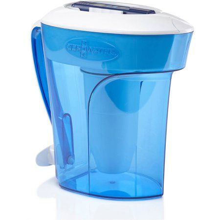 ZeroWater 10-Cup Pitcher with Free TDS Meter (Total Dissolved Solids)