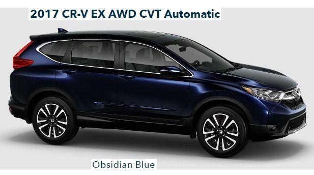Honda CR-V EX AWD CVT Automatic