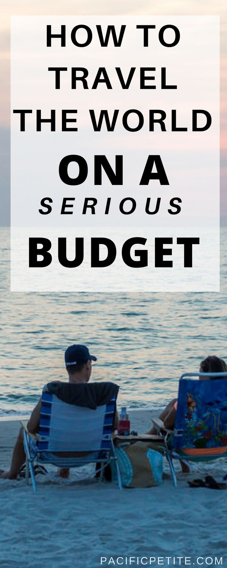 Are you dreaming of traveling the world but you're bank account is the only thing holding you back? I'll show you exactly how to travel the world when you're on a serious budget. Broken down in 8 simple steps! Enjoy traveling to any destination and cross it off your bucketlist.