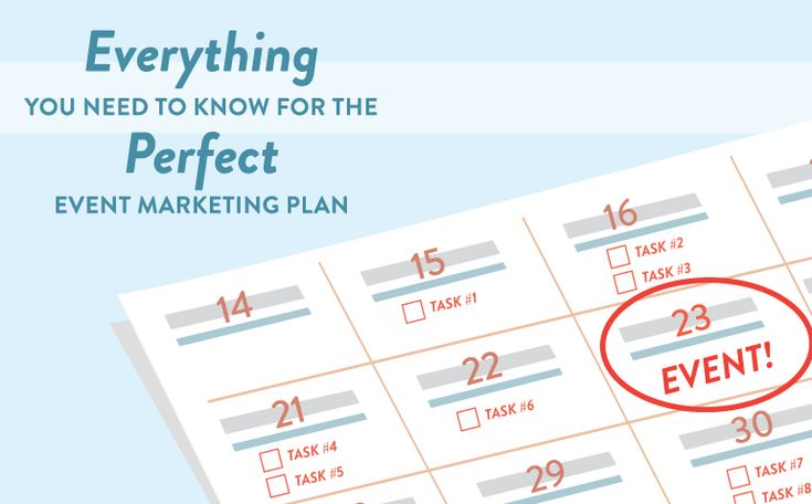 Everything You Need To Know For The Perfect Event Marketing Plan - CoSchedule