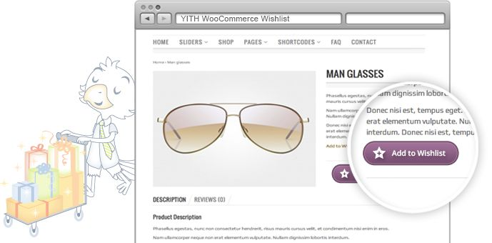 YITH WooCommerce Wishlist | Your Inspiration Themes #free #plugin #wordpress #themes