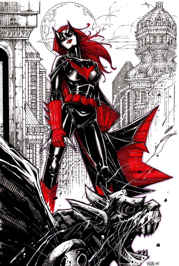 Batwoman by Oliver Nome