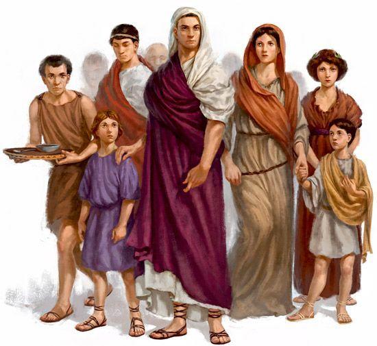 ROMAN LAW - FAMILY |  romanoimpero.com #ancientarchitecture