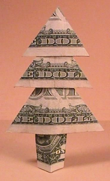 14 Creative Money Gift and Cash Gift Tutorials | PERFECT Gift | Pinterest |  Origami, Xmas tree and Christmas Tree - 14 Creative Money Gift And Cash Gift Tutorials PERFECT Gift