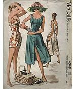 Guide to collecting vintage sewing patterns. This reminded me of a few old sewing patterns we had when I was growing up. When I created an apron I looked at so many patterns, gleaning ideas.