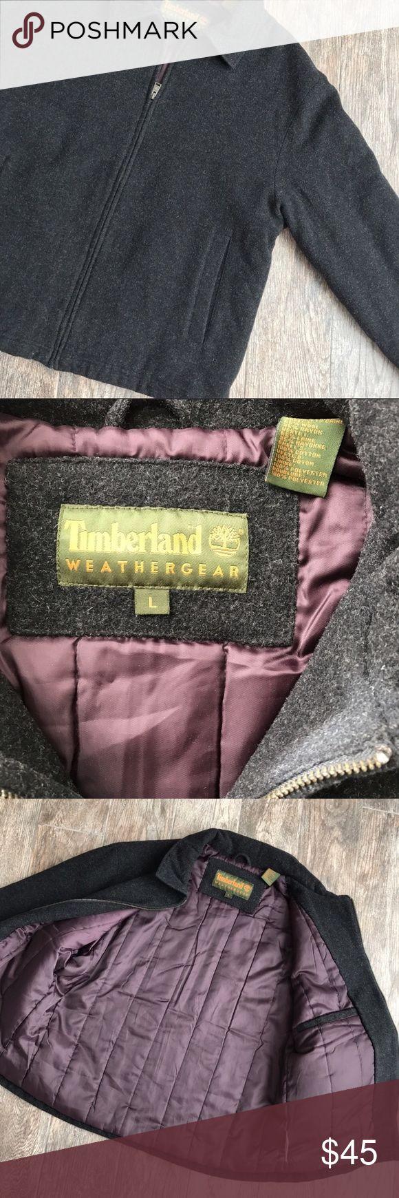 Timberland Weathergear Wool Blend Jacket Timberland Weathergear Wool Blend Jacket. Size Large. Excellent condition. 65% Wool, 35% Rayon. Timberland Jackets & Coats Performance Jackets