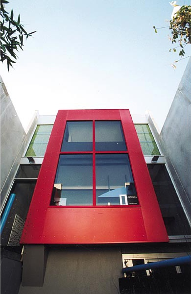 My Architect Project: Tilt slab new home. Anodised aluminium facade