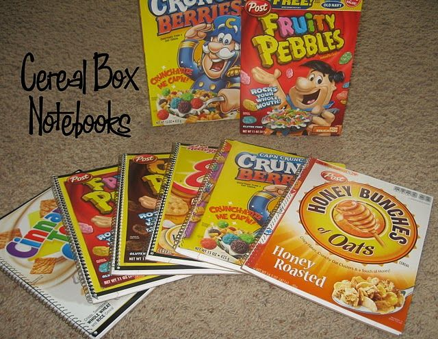 Best 25 cereal box crafts ideas on pinterest cardboard crafts cereal box notebooks we could make these for them to sell at the habitat for ccuart