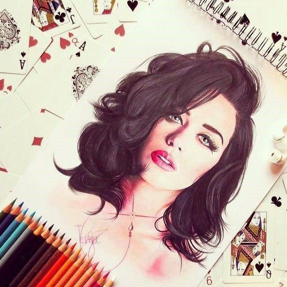 Katy Perry |Drawing                                                                                                                                                     Mais