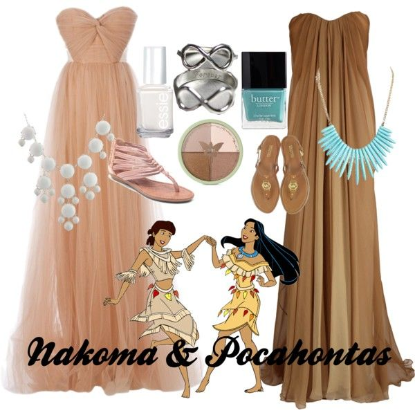 Nakoma & Pocahontas by amarie104 on Polyvore