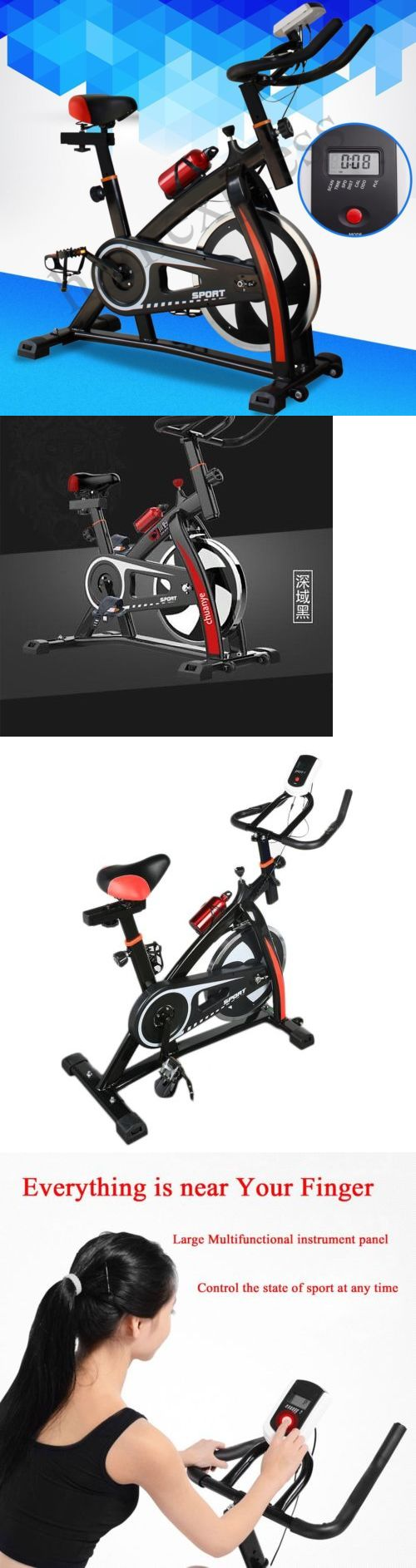 Exercise Bikes 58102: Fitness Safely Stationary Spinning Exercise Bike Cardio Indoor Cycling Bicycle O -> BUY IT NOW ONLY: $125.85 on eBay!