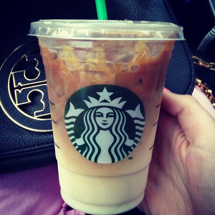 Caramel Macchiato #Iced #Starbucks #Coffee #Caramelo #Vainilla #Cafe