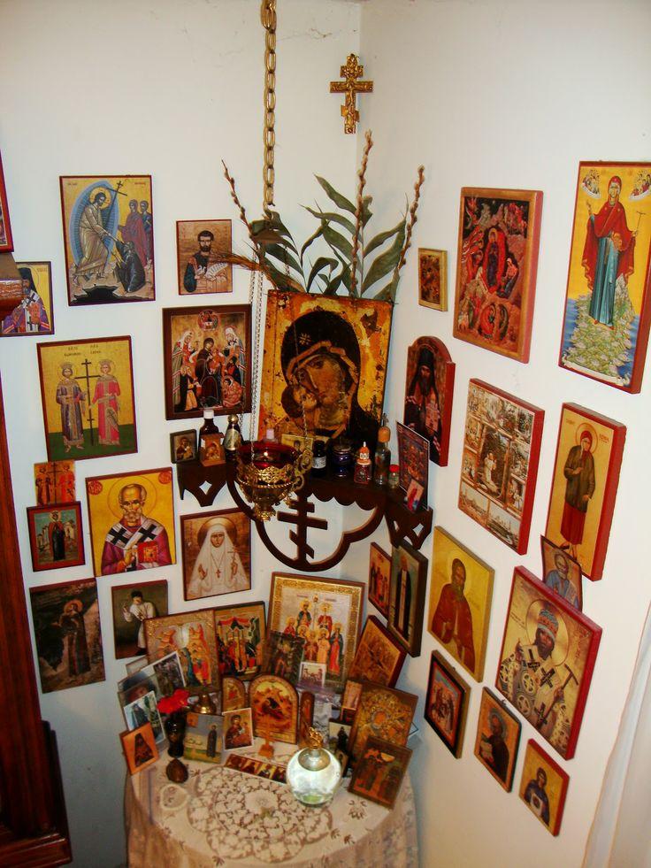 orthodox icon corner - Google Search