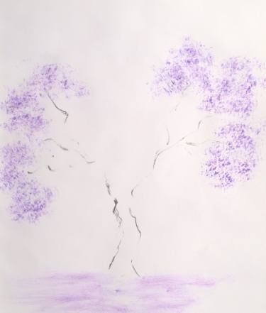 "Saatchi Art Artist Crina Iancau; Painting, ""Tree Japan"" #art"