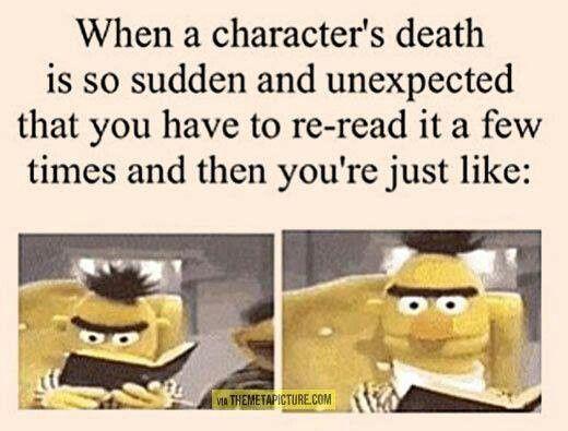 I love fictional characters