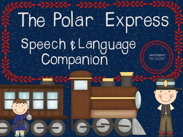 Speech Room News: Polar Express Book Unit. Pinned by SOS Inc. Resources. Follow all our boards at pinterest.com/sostherapy for therapy resources.