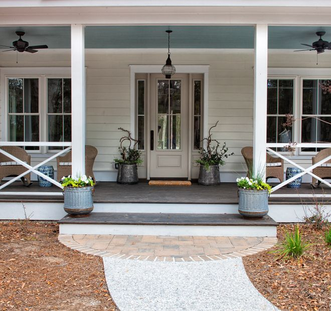 Best 25+ Blue porch ceiling ideas on Pinterest