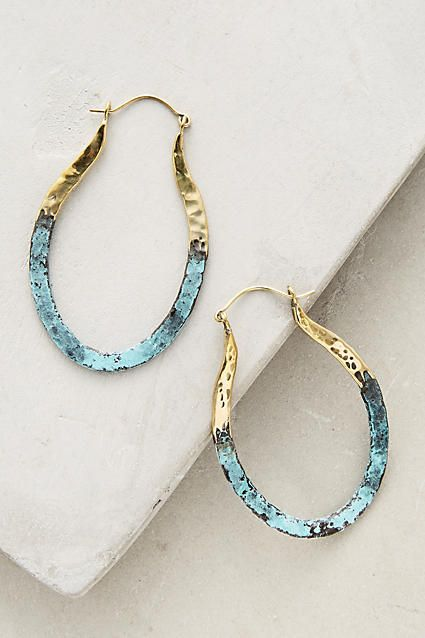 Detta Hoop Earrings - anthropologie.com