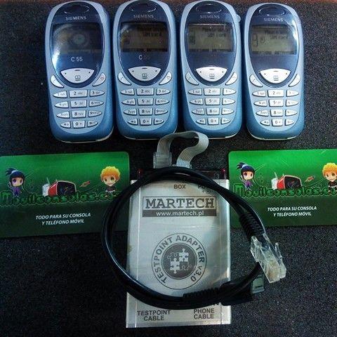 www.MOVILCONSOLAS.com: liberación Siemens c55 con Martech Box
