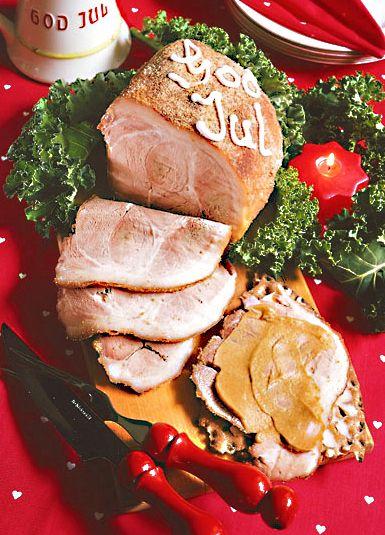 Kokt griljerad julskinka | Recept.nu