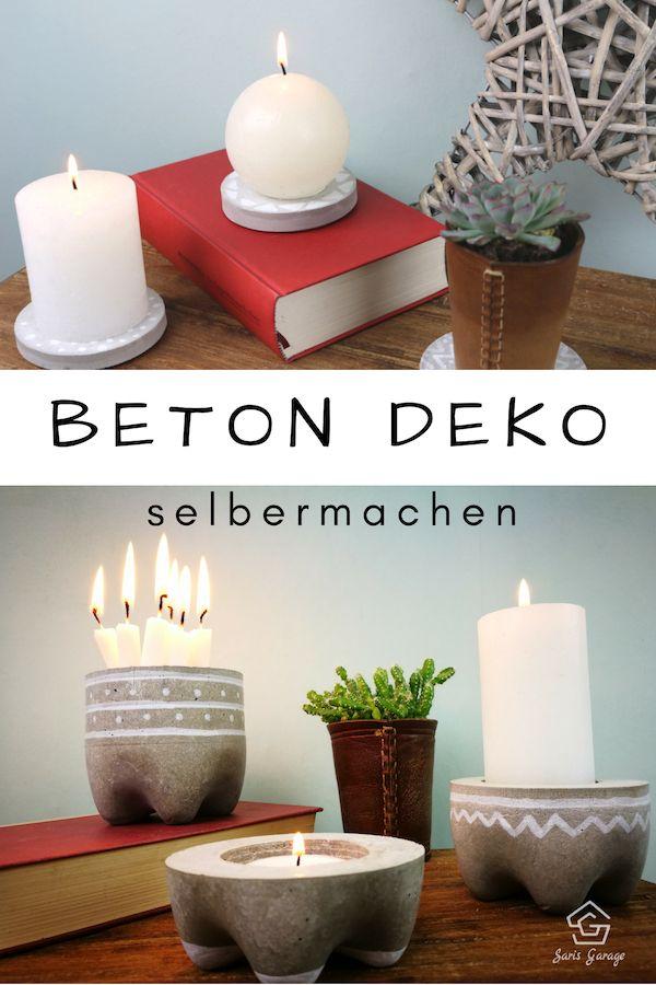 ᐅ Knetbeton Betonschalen Deko Beton Deko Diy Ideen Kreativ