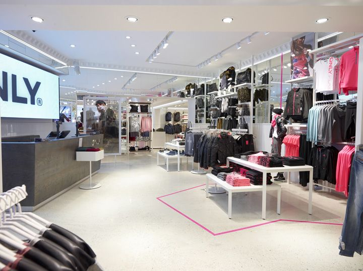 ONLY Store By Riis Retail Oldenburg Germany Design Blog