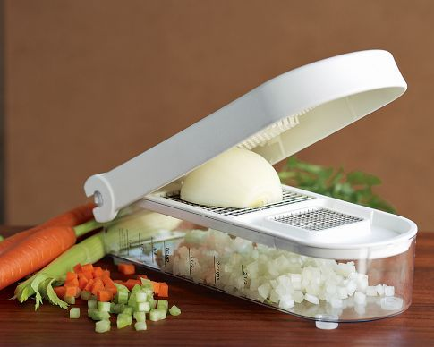 This has got to be one of my FAVORITE tools in the kitchen!!  I use it for so many different fruits and vegetables.