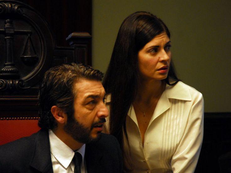 """Ricardo Darín and Soledad Villamil in """"El secreto de sus ojos"""" (The Secret in Their Eyes) - Juan José Campanella - 2009"""