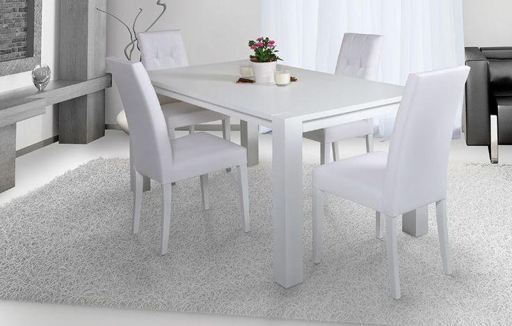 Tavolo moderno allungabile in legno mod daisy frassino for Tavolo cucina moderno bianco