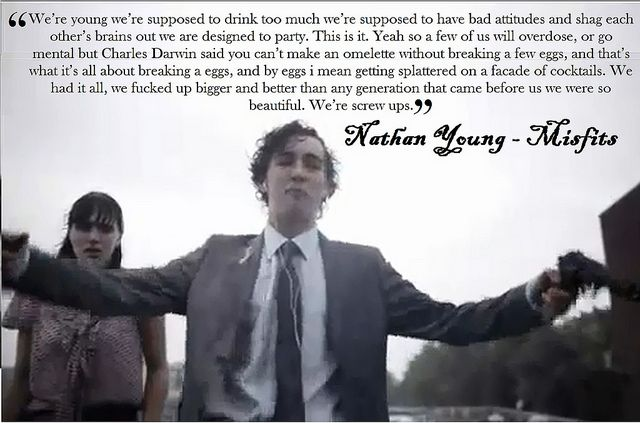 nathan misfits quotes - Google Search