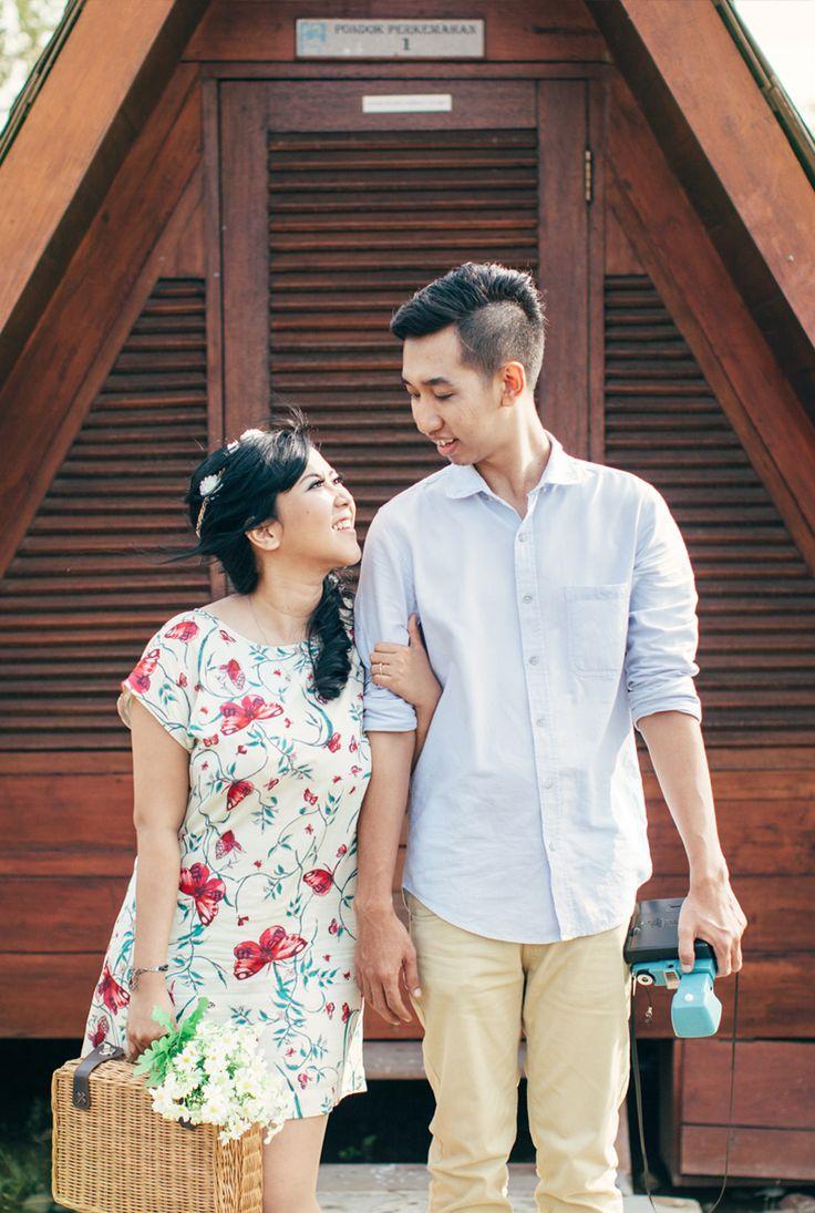 Wisnu Gina prewedding, Jakarta, Indonesia