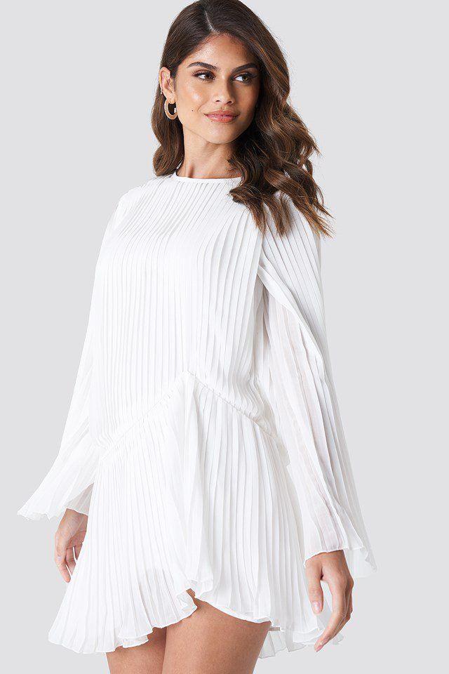 cf0d40c56 Mesh LS Midi Dress in 2019 | Women references | Dresses, White dress ...
