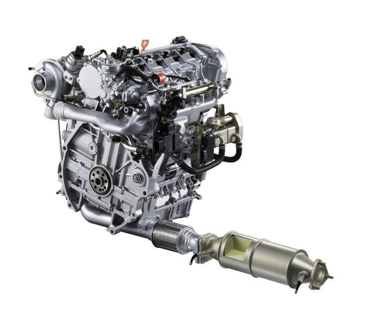 Acura i-DTEC Clean Diesel Engine