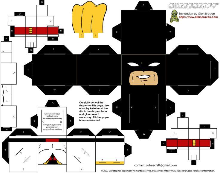 super heroes para imprimir,recortar y armar - Taringa!