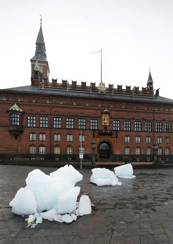 1 | Why Artist Olafur Eliasson Hauled 100-Tons Of Glacial Ice To Denmark Only To Watch It Melt | Co.Exist | ideas + impact