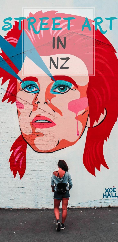 Die schönsten Street Art Bilder von Neuseeland!