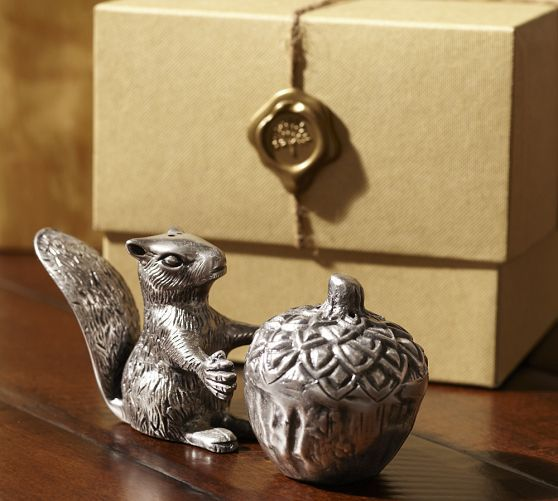 Squirrel Salt & Pepper Gift Set