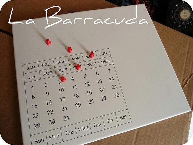 Mini Calendario Magnético Nuevo by Pilchas! y La Barracuda ENVÍOS, via Flickr