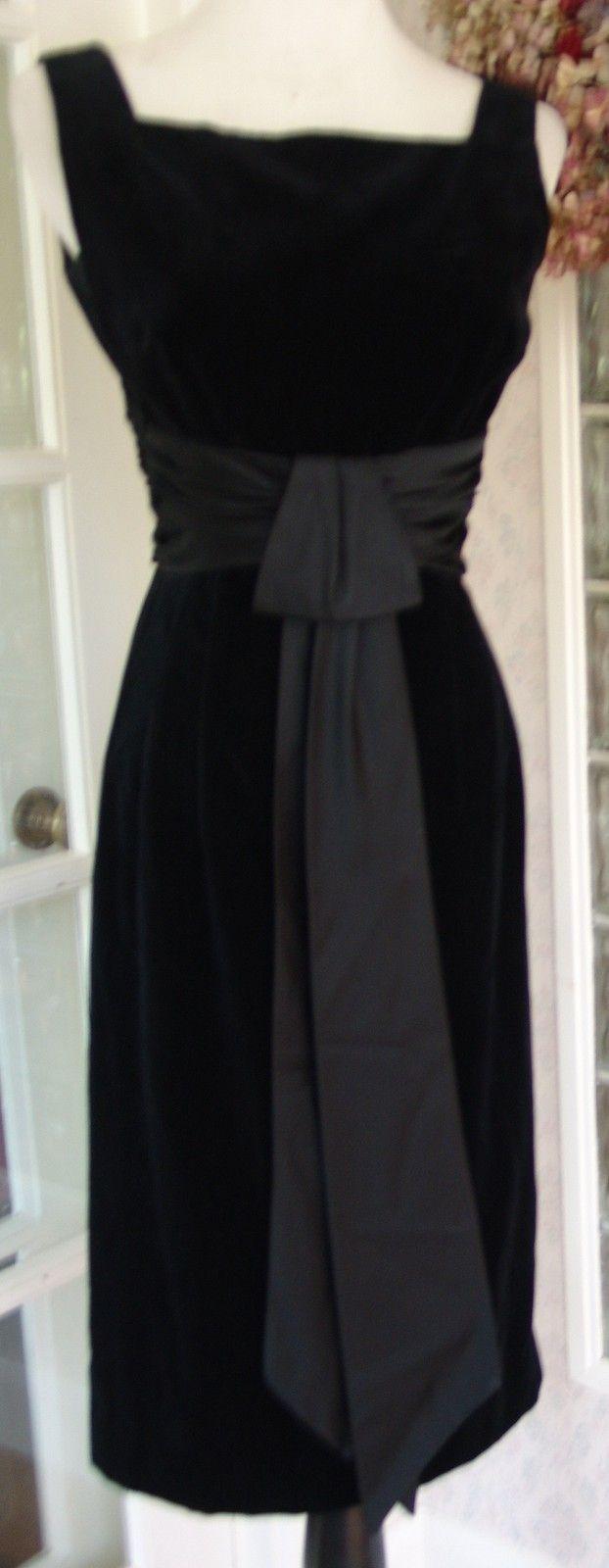 1960's Velvet Dress
