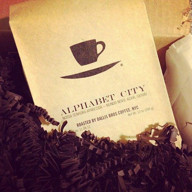 Alphabet City blend - Nossa Senhora Aparecida, Mundo Novo - Roasted by Dallis Bros Coffee, NYC