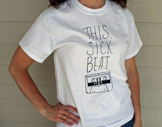 Taylor Swift Lyrics Shirt This Sick Beat Taylor Swift 1989 Tour