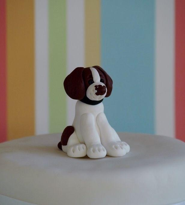 Icing A Dog Cake