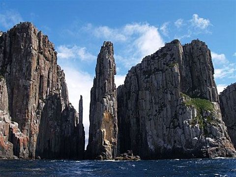 Cape Hauy, Tasmiania: A haven for rock climbers.
