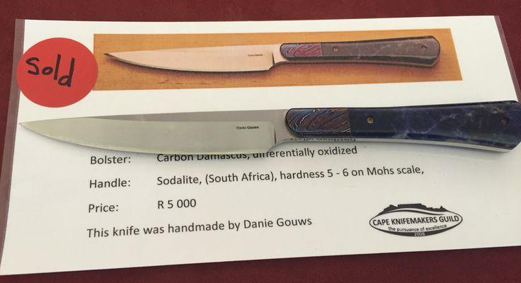 Cape Knifemakers Guild Show 2015