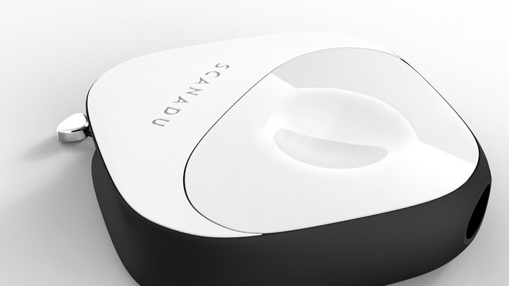 Scanadu Scout. A device to measure your vital signs in 10 seconds.