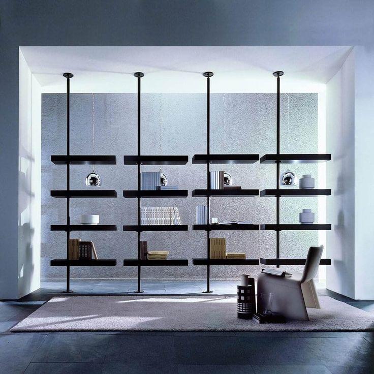 Contemporary Shelves Designs #GlassShelvesSystem